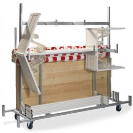 T91500 - Trolley Marktkramen is speciaal door VEBA ontwikkeld voor onze marktkramen