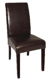 GF956 -Bolero kunstlederen stoel met ronde rug