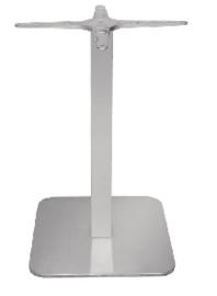 GK993-Bolero RVS vierkant tafelonderstel