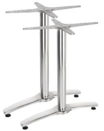 GH985 -Bolero dubbele aluminium tafelpoot