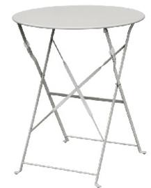 GH556 -Bolero ronde stalen opklapbare tafel grijs 59,5cm