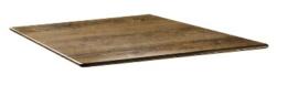 DR982 -Topalit Smartline vierkant tafelblad Atacama kersenhout -Afmeting: 70x70cm