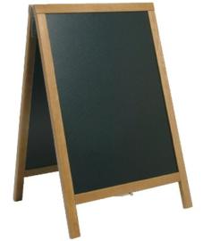 CE414 -Securit teakhouten stoepborden- Maat: S. Schrijfvlak: 47x68cm