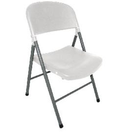 CE692 -Bolero opklapbare stoelen wit