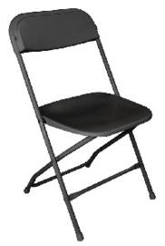 GD386 -Bolero opklapbare stoel zwart