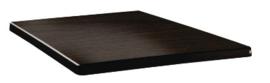 DR922 -Topalit Classic Line vierkant tafelblad wengé