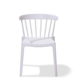 50901 - Windson wit is een van de nieuwe stapelbare kunststof (Polypropeen) stoel VEBA