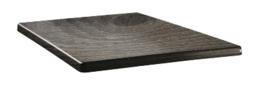 DR955 -Topalit Classic Line vierkant tafelblad hout