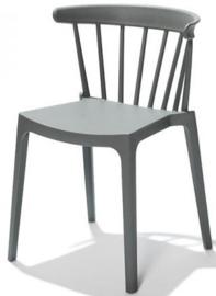 50903 - Windson groen is een van de nieuwe stapelbare kunststof (Polypropeen) stoel VEBA