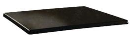 DR941 -Topalit Classic Line rechthoekig tafelblad Cyprus metal