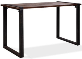 30180HU - 30220HU - Old Dutch table high - U Frame met een barnwood tafelblad van de Old Dutch VEBA