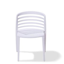 50701 - Rivièra wit is een van de nieuwe stapelbare kunststof (Polypropeen) stoel VEBA