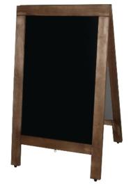 GG108 -Olympia houten stoepborden -Schrijfvlak: 62x40cm