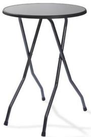 P10385 - Partytafel Statafel Londen hamerslag zwart