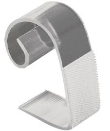 DK892 -Tafelrok klittenband clip 25-50mm