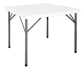 Y807 -Bolero vierkante opklapbare tafel 86cm