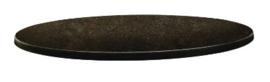 DR935 -Topalit Classic Line rond tafelblad Cyprus metal - Afmeting: 60(Ø)cm