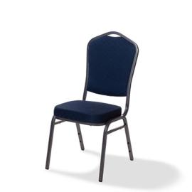 50361 - Stapelbare stoel Castle metalen frame in hamerslag blauw VEBA