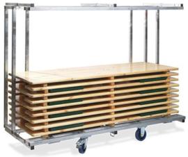 T90810 - Trolley Beerset Professional is uitschuifbaar en daardoor geschikt voor alle bierbankgroottes