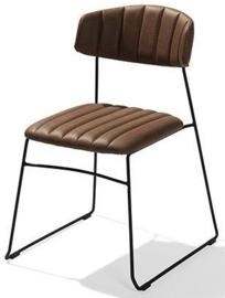 53011 -  Mundo Cognac de mundo stoel heeft een voortreffelijk uiterlijk VEBA