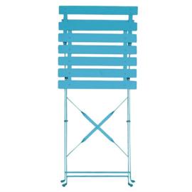 GK982 -Bolero stalen opklapbare stoelen turquoise