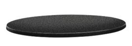 DR895 -Topalit Classic Line rond tafelblad antraciet- Afmeting: 60(Ø)cm
