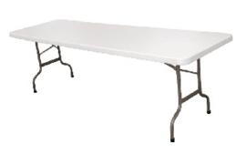 CF375 -Bolero inklapbare tafel 244cm wit