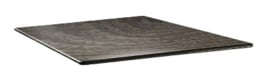 DR997 -Topalit Smartline vierkant tafelblad hout -Afmeting: 70x70cm
