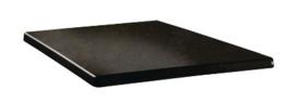 DR938 -Topalit Classic Line vierkant tafelblad Cyprus metal -Afmeting: 60x60cm