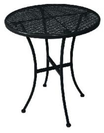 GG705 -Bolero ronde stalen bistrotafel zwart 60cm