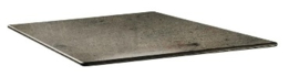 DR992 -Topalit Smartline vierkant tafelblad beton  - Afmeting: 70x70cm