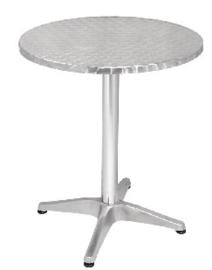 U425 -Bolero ronde RVS tafel 60cm