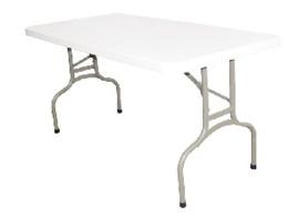 U544 -Bolero rechthoekige inklapbare tafel 1,52m