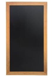 Y859 -Securit lange wandborden teak effect -Schrijfvlak: 90x46cm