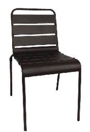 CS728 -Bolero stalen stoel zwart