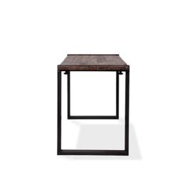 30180HU - 30220HU - Old Dutch table high - U Frame met een barnwood tafelblad van de Old Dutch VEBA