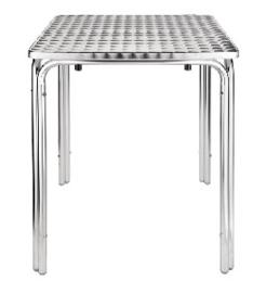 CG837 -Bolero vierkante RVS bistrotafel 60cm