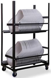 T92020 - Trolley keeve kuip armleuning is speciaal door VEBA ontworpen voor het vervoeren van de kuipen