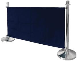 DL480 - Bolero canvas afzetdoek donkerblauw 70(h) x 143(b) x 2(d)cm