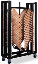 T92000 - Trolley keeve trendy frame is speciaal door VEBA ontworpen voor het vervoeren van de frames van de keeve stoelen