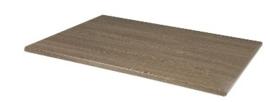 CW134 -Bolero rechthoekig tafelblad wenge