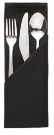 HB561 -Mitre Essentials Ocassions servet zwart 51x51cm