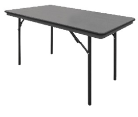 GC594 -Bolero ABS rechthoekige inklapbare tafel 1,22m