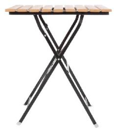 GJ765 -Bolero vierkante imitatiehouten tafel 60cm