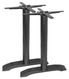 DN642 -Bolero dubbele gietijzeren tafelpoot