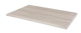 CW133 -Bolero rechthoekig tafelblad whitewash