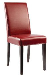 GH443 -Bolero kunstlederen stoel rood