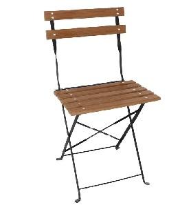 GJ766 -Bolero opklapbare imitatiehout stoelen