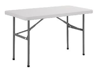 U543 -Bolero rechthoekige inklapbare tafel 1,22m