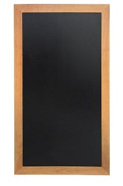 Y860 -Securit lange wandborden teak effect -Schrijfvlak: 110x46cm